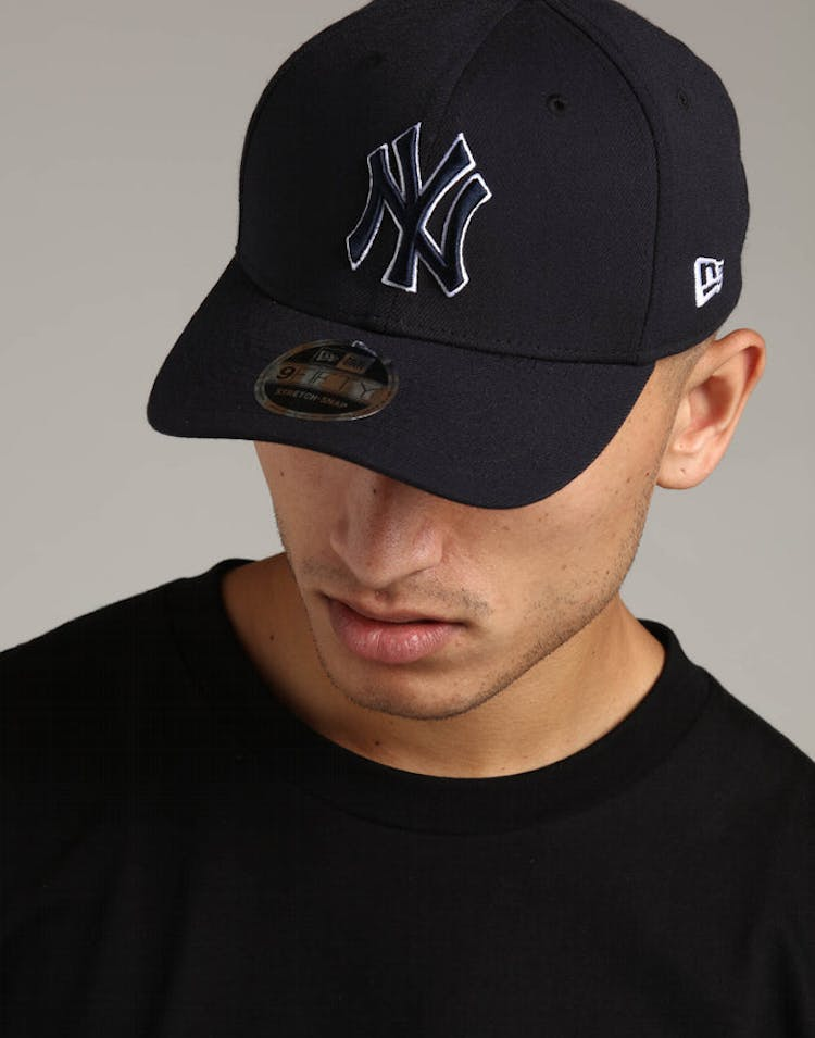 92355e21 New Era New York Yankees 9FIFTY Stretch Snapback Navy – Culture Kings