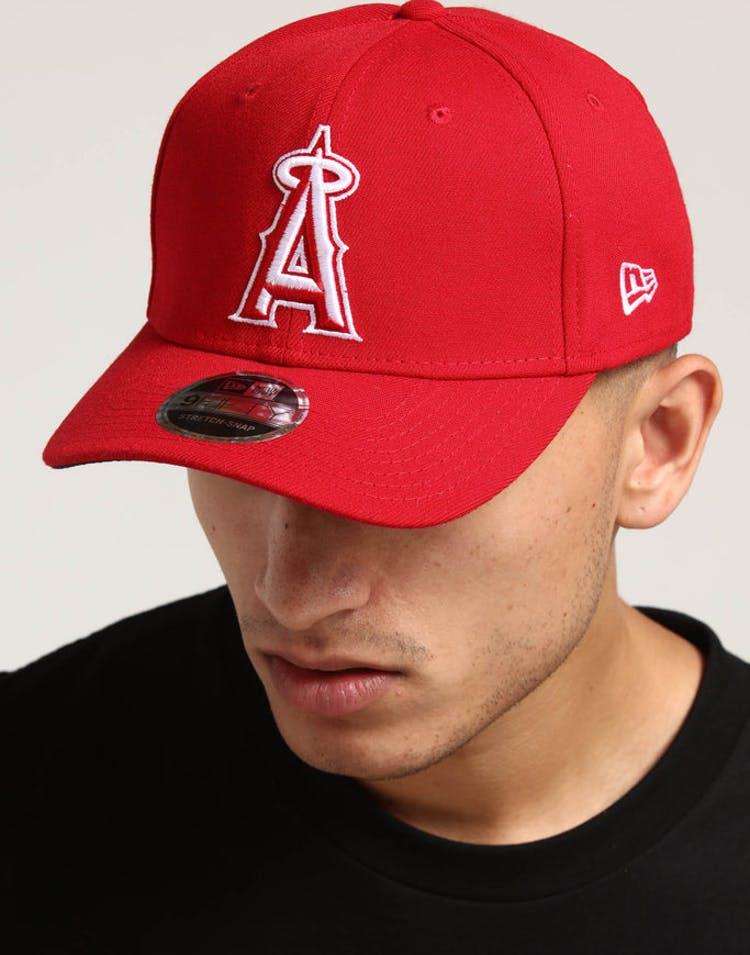 91527aa6 New Era Los Angeles Angels 9FIFTY Stretch Snapback Shadow Tech Scarlet –  Culture Kings