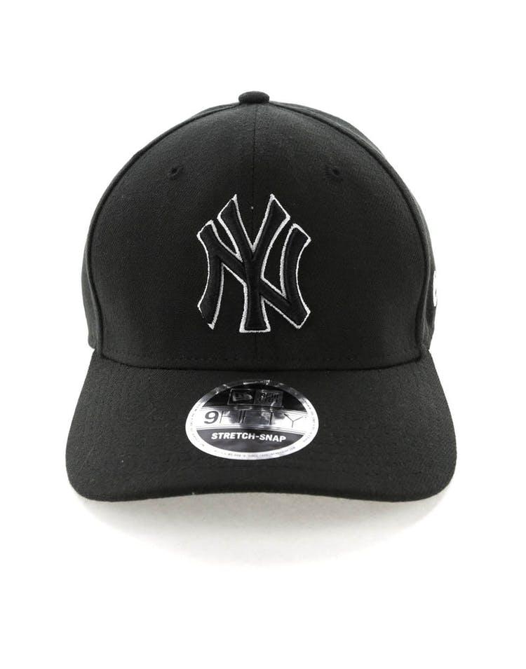 07f3919b9 New Era New York Yankees 9FIFTY Stretch Snapback Black