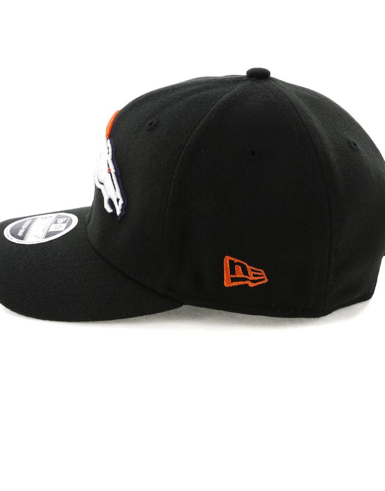 reputable site ddaeb fc2dc New Era Denver Broncos 9FIFTY Stretch Snapback Black