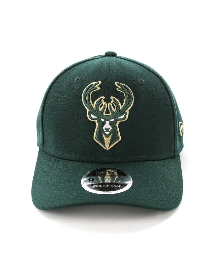 san francisco bf819 5daab New Era Milwaukee Bucks 9FIFTY Stretch Snapback OTC Dark Green – Culture  Kings