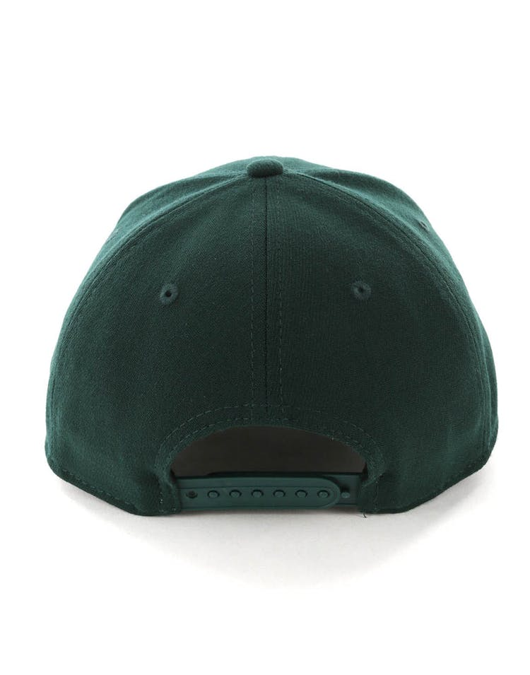 quality design f0d3f 4928c New Era Milwaukee Bucks 9FIFTY Stretch Snapback OTC Dark Green