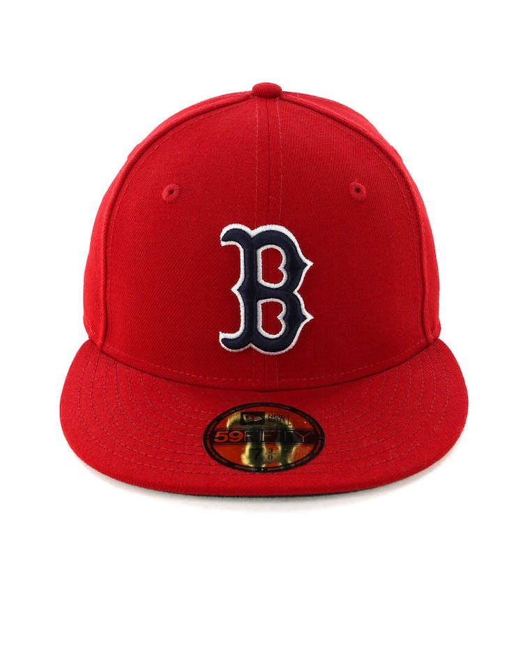 8c3aa7e4a New Era Boston Red Sox 59FIFTY Fitted Scarlet/Navy