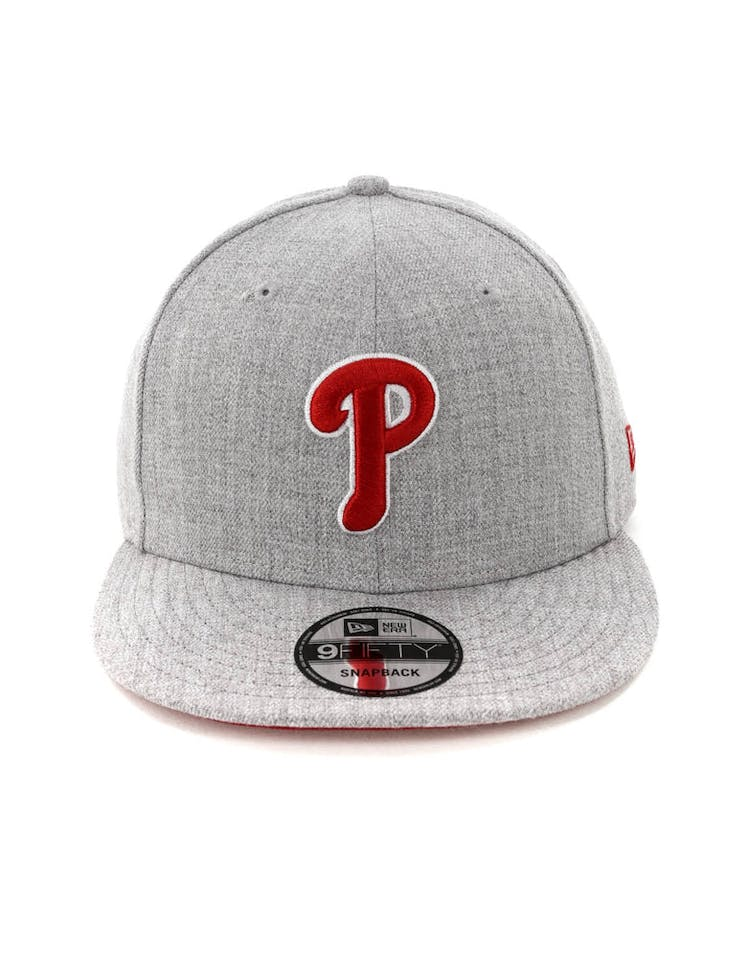 e34eb9a513fb65 New Era Philadelphia Phillies 9FIFTY Snapback Heather Grey – Anexas