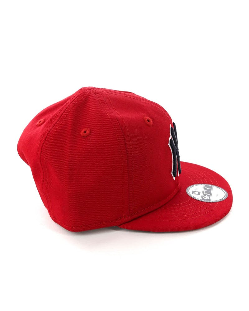New Era My 1ST New York Yankees 9FIFTY Snapback Scarlet