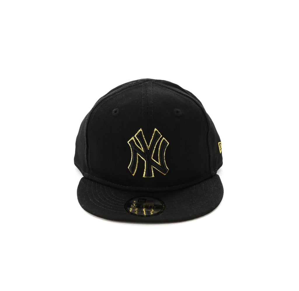 29f9a5b3bcdc2 ... get new era my 1st new york yankees 9fifty snapback black gold 6543a  1f548