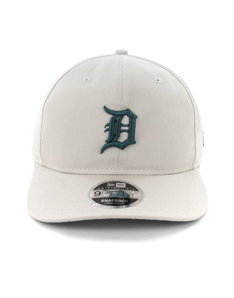designer fashion 0d571 58d68 New Era Detroit Tigers 9FIFTY Original Fit Precurved Snapback Stone