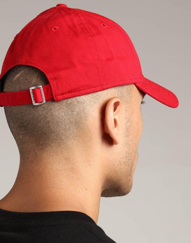 huge discount 10755 4d8fa New Era San Francisco 49ers 9FORTY Cloth Strapback Helmet Scarlet