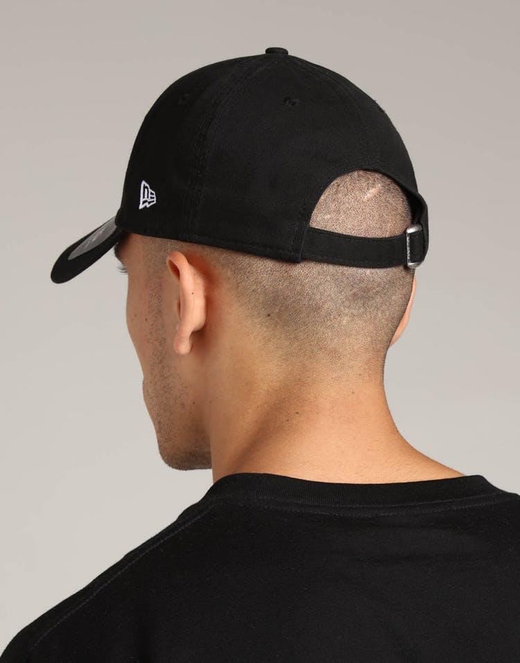 6e823528 New Era Philadelphia Eagles 9FORTY Cloth Strapback Helmet Black