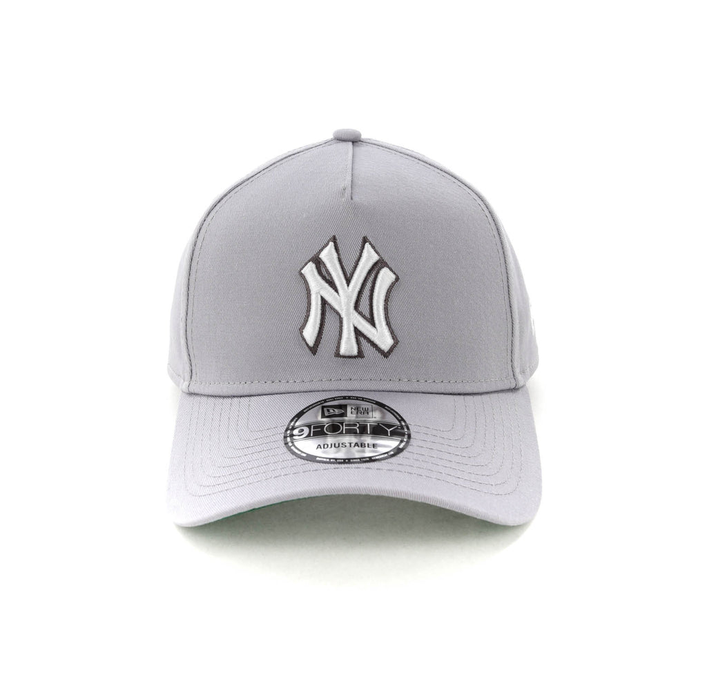 e09babfba66 ... promo code for new era new york yankees ck 9forty a frame snapback grey  a8d59 32752