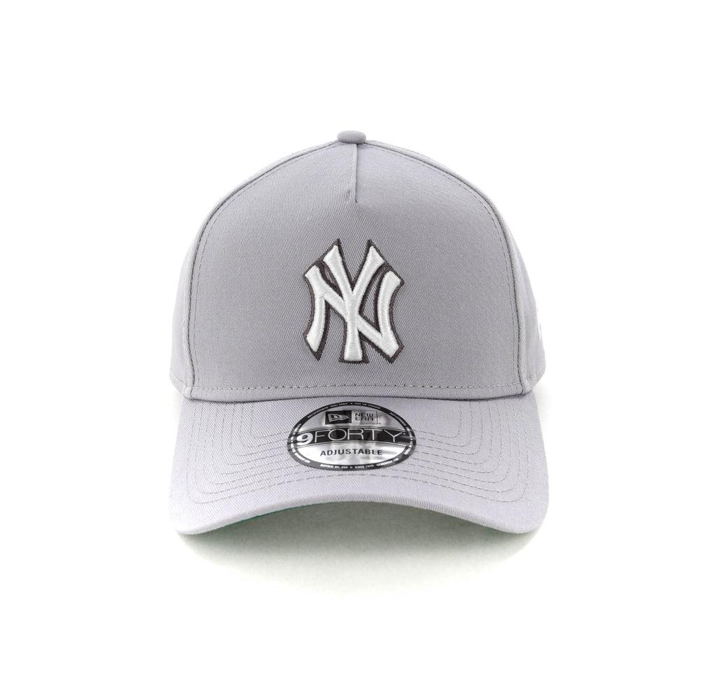 b13303d692d ... new era new york yankees ck 9forty a frame snapback grey