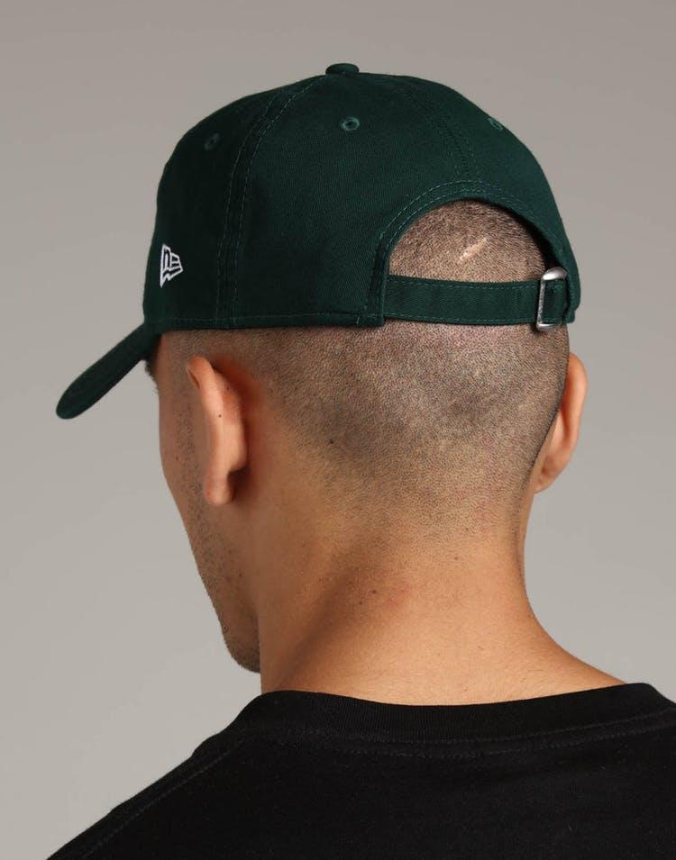 5eb0987c2 New Era Oakland Athletics 9FORTY Cloth Strapback Helmet Dark Green