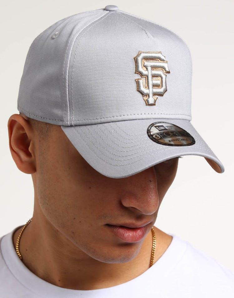 62710438f82f9a New Era San Francisco Giants 9FORTY A-Frame UV Snapback Grey/Wheat –  Culture Kings