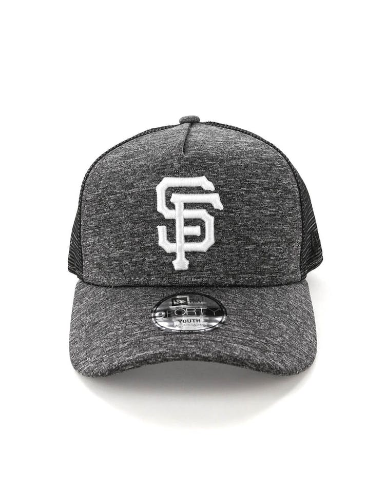 New Era Youth San Francisco Giants CK 9FORTY A-Frame Trucker Shadow Tech