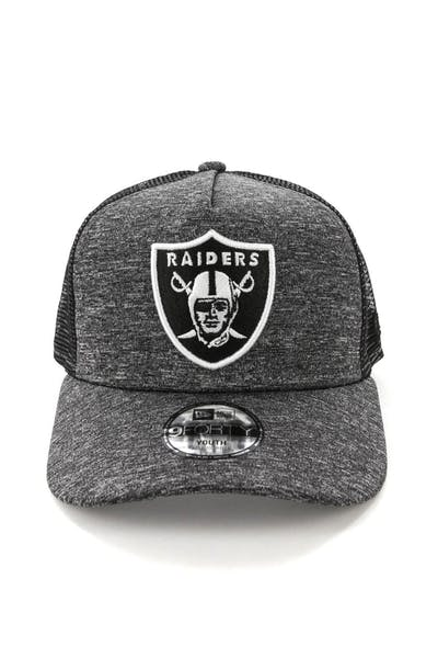 New Era Youth Raiders CK 9FORTY A-Frame Trucker Shadow Tech