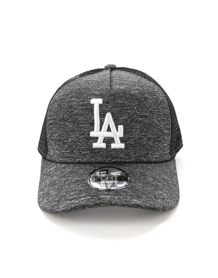 New Era Youth Los Angeles Dodgers CK 9FORTY A-Frame Trucker Shadow Tech