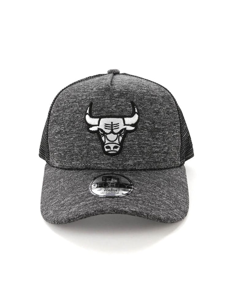 36738b21 New Era Youth Chicago Bulls CK 9FORTY A-Frame Trucker Shadow Tech – Culture  Kings