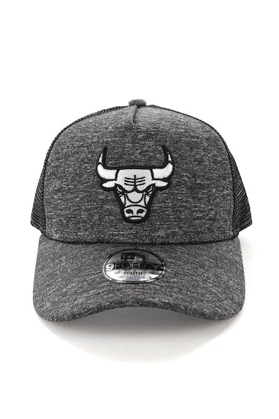 New Era Youth Chicago Bulls CK 9FORTY A-Frame Trucker Shadow Tech