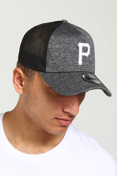 New Era Pittsburgh Pirates CK 9FORTY A-Frame Trucker Snapback Shadow Tech