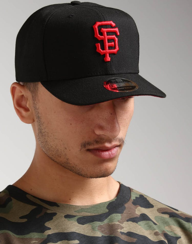 half off 3b17f 54bff New Era San Francisco Giants 9FIFTY HC Snapback Black Red – Culture Kings