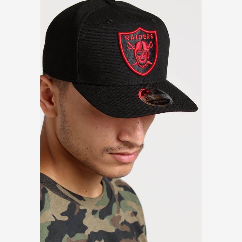 New Era Raiders 9FIFTY HC Snapback Black Red – Culture Kings bfd51b8ab