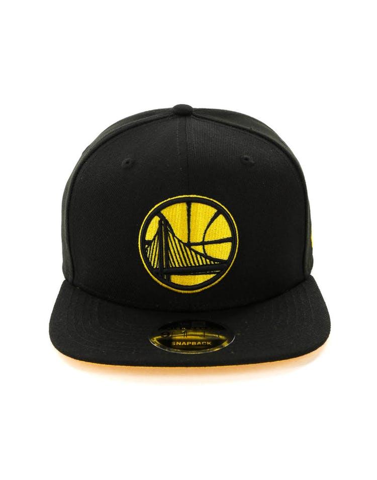 afc96ff9d0e19 New Era Golden State Warriors 9FIFTY HC Snapback Black Gold ...
