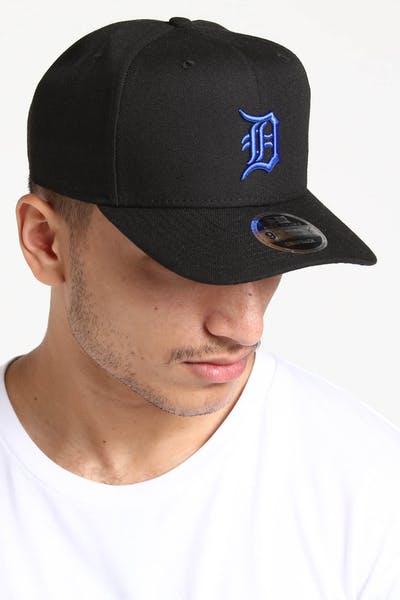 timeless design 7ad1b bbfc5 New Era Detroit Tigers 9FIFTY HC Snapback Black Royal ...