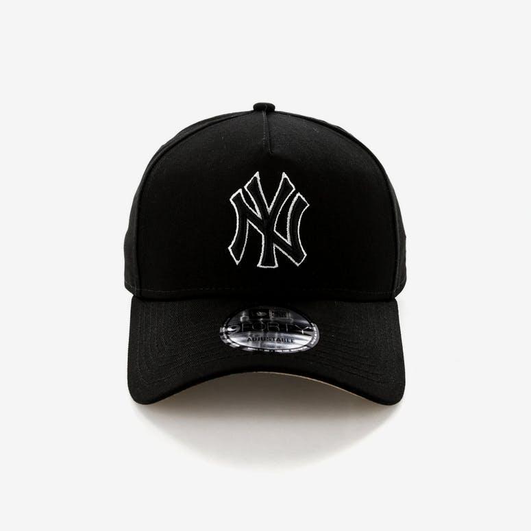 a8f467755d2 New Era New York Yankees 9FORTY A-Frame UV Snapback Black Camel – Culture  Kings