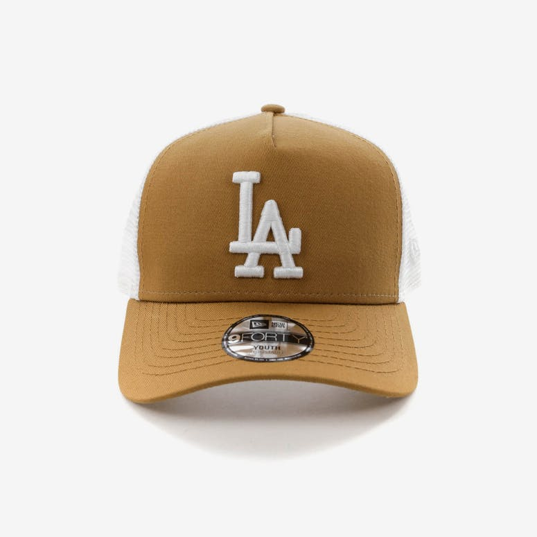 New Era Youth Los Angeles Dodgers 9FORTY A-Frame Trucker Snapback Whea –  Culture Kings d6b6890622c4