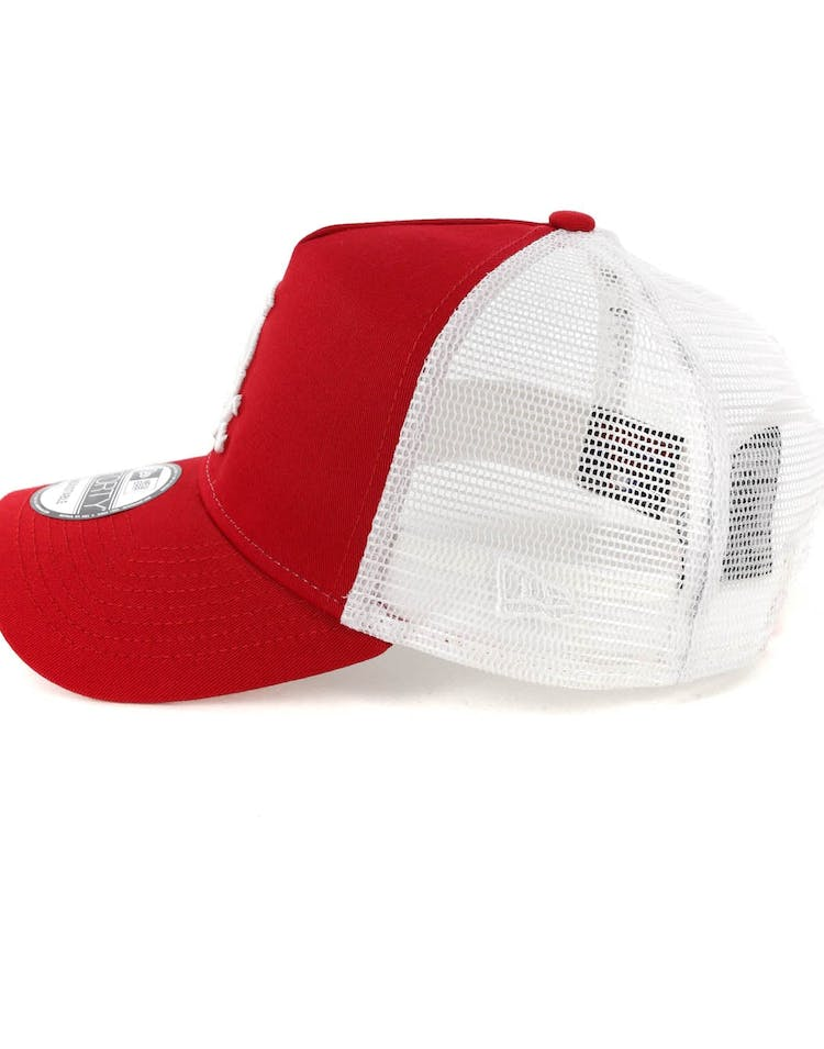 great fit exquisite style closer at New Era Chicago White Sox 9FORTY A-Frame Trucker Snapback Scarlet ...