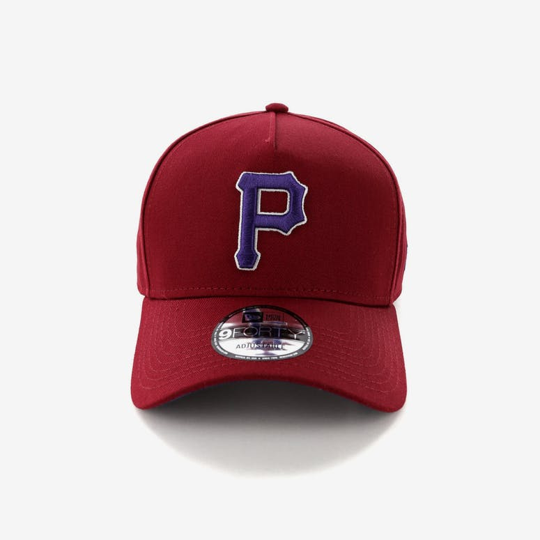 cf48727c321 New Era Pittsburgh Pirates 9FORTY A-Frame Snapback Shiraz Purple – Culture  Kings