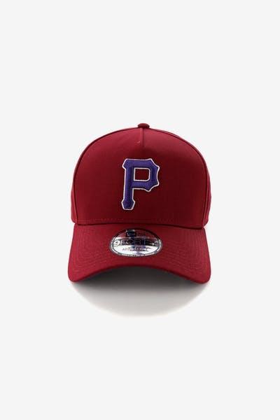 95a84bc4606 New Era Pittsburgh Pirates 9FORTY A-Frame Snapback Shiraz Purple