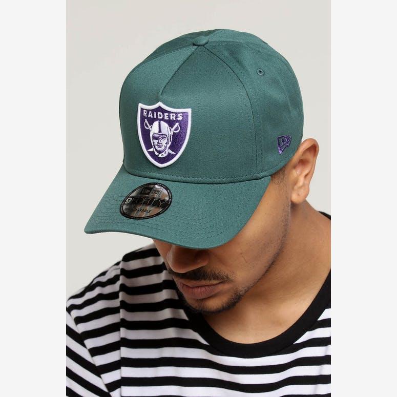 New Era Raiders 9FORTY A-Frame Snapback Pine Purple – Culture Kings 3574b73403a0