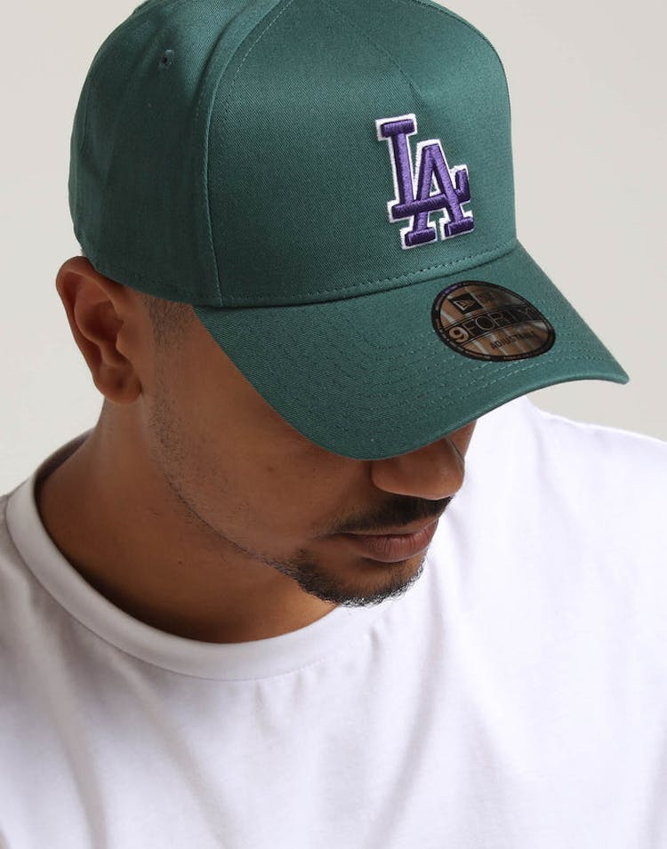 online store bd7d8 222e4 New Era Los Angeles Dodgers 9FORTY A-Frame Snapback Pine Purple – Culture  Kings