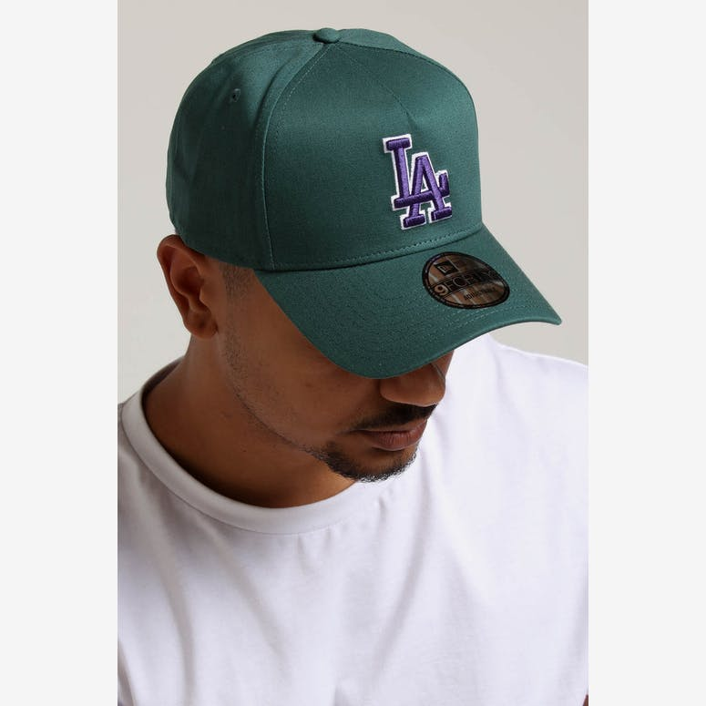 New Era Los Angeles Dodgers 9FORTY A-Frame Snapback Pine Purple – Culture  Kings 07c7b79175d