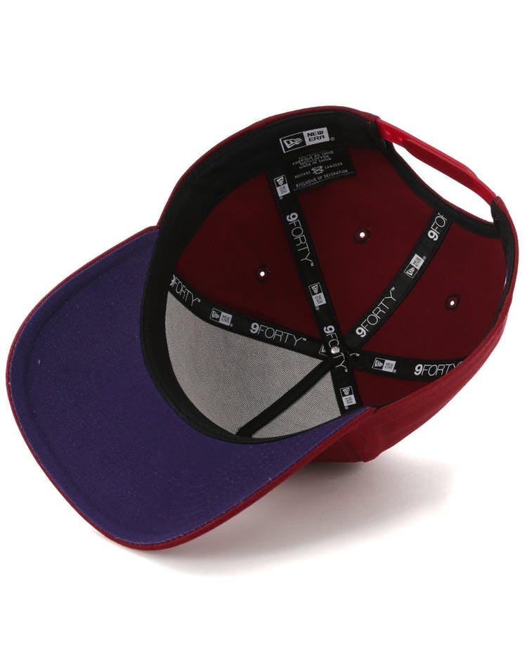 timeless design 22067 39d9b New Era Chicago Bulls 9FORTY A-Frame Snapback Shiraz Purple