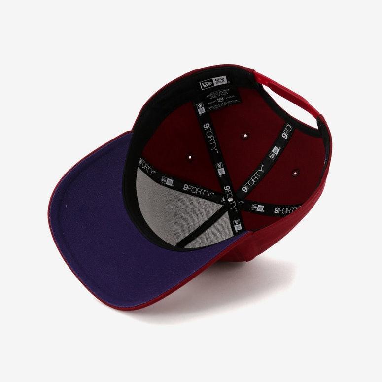 official photos 500fb d88b1 New Era Boston Red Sox 9FORTY A-Frame Snapback Shiraz Purple