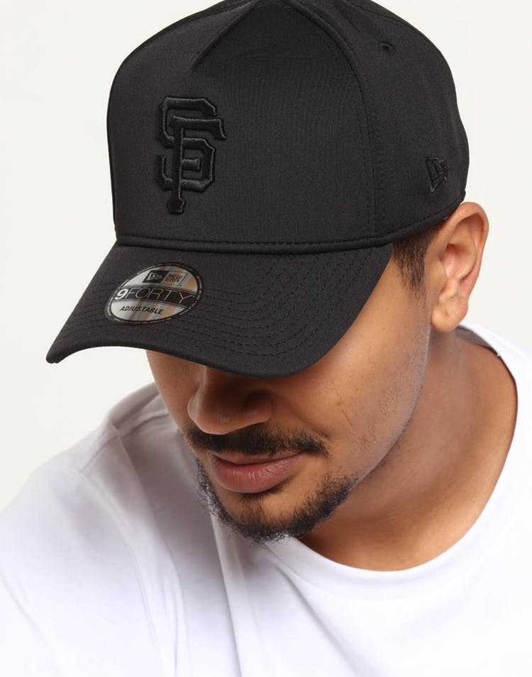 b01510c676e1a5 New Era San Francisco Giants 9FORTY Neo Snapback Black – Culture Kings