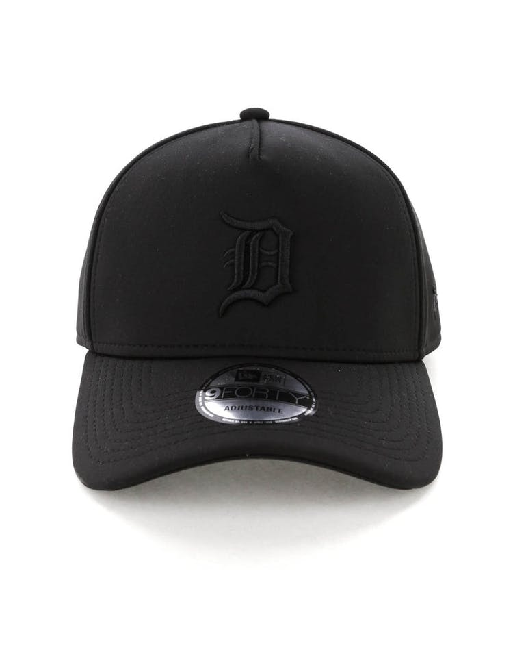 save off 3ca69 c5fe5 New Era Detroit Tigers 9FORTY A-Frame Neo Snapback Black