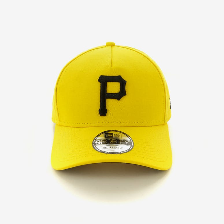 6b0865bcaae New Era Pittsburgh Pirates 9FORTY A-Frame Snapback Yellow Black – Culture  Kings
