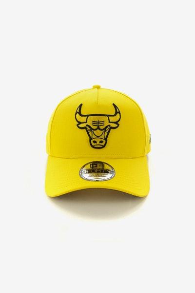 22ae81b31ad New Era Chicago Bulls 9FORTY A-Frame Snapback Yellow Black