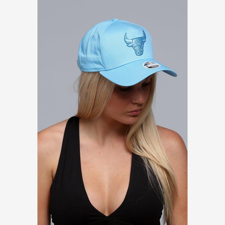 New Era Women s Chicago Bulls 9FORTY A-Frame Strapback Pastel Blue –  Culture Kings b15619c5c