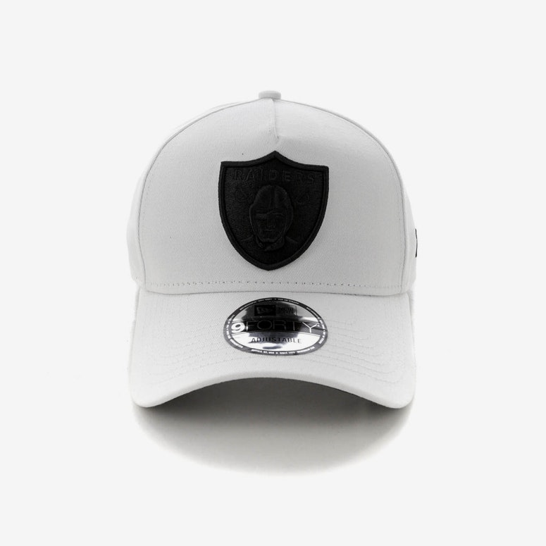 New Era Raiders 9FORTY A-Frame Snapback White/Black