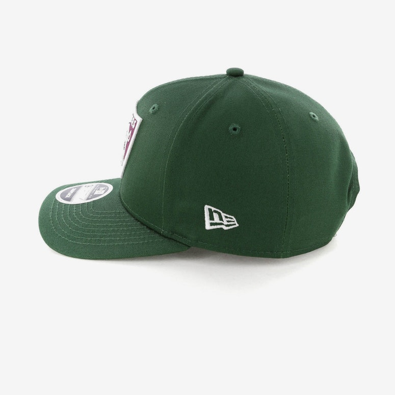 New Era Raiders 9FIFTY Original Fit Precurved Snapback Green/Burgundy