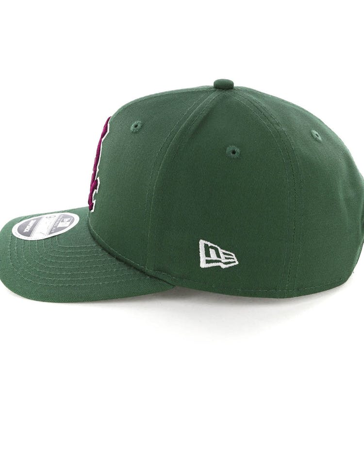 huge discount 65053 59981 New Era Chicago White Sox 9FIFTY Original Fit Precurved Snapback Green  Burgundy