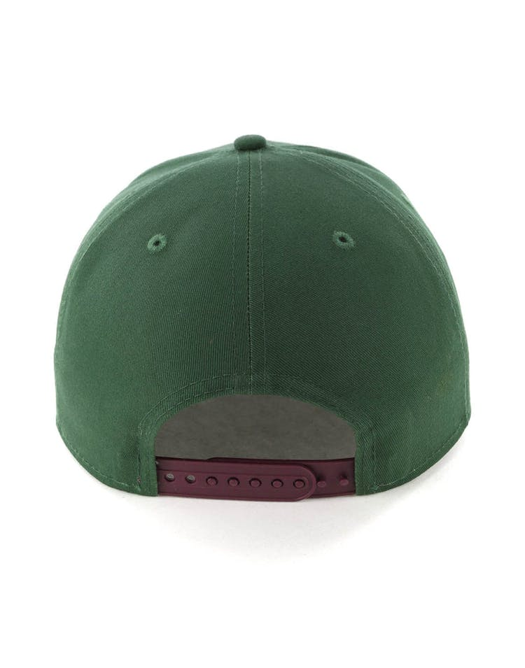 newest collection 4db48 daad5 New Era Boston Red Sox 9FIFTY Original Fit Precurved Snapback Green Burgundy