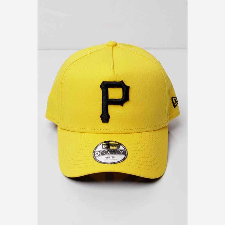 New Era Youth Pittsburgh Pirates 9FORTY A-Frame Snapback Yellow Black – Culture  Kings a82d52c9286b