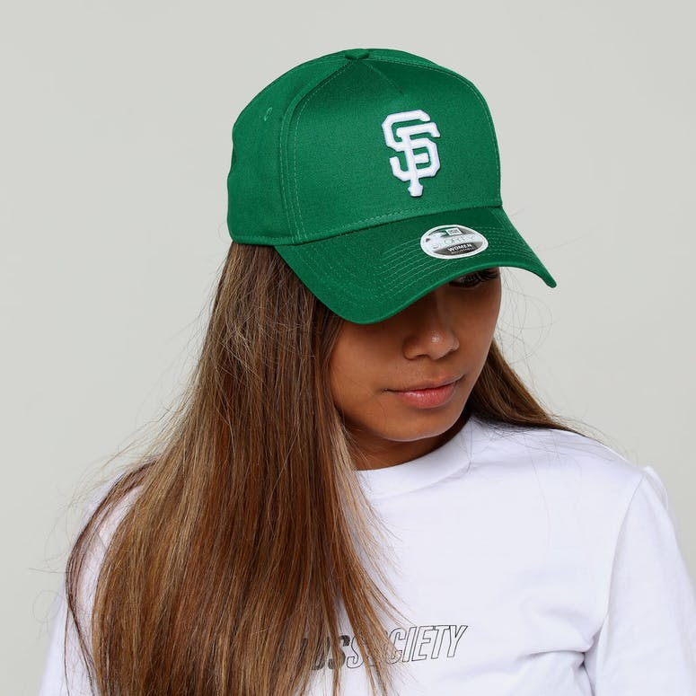 New Era Women s San Francisco Giants CK 9FORTY A-Frame Snapback Emerald  Green 89617e881