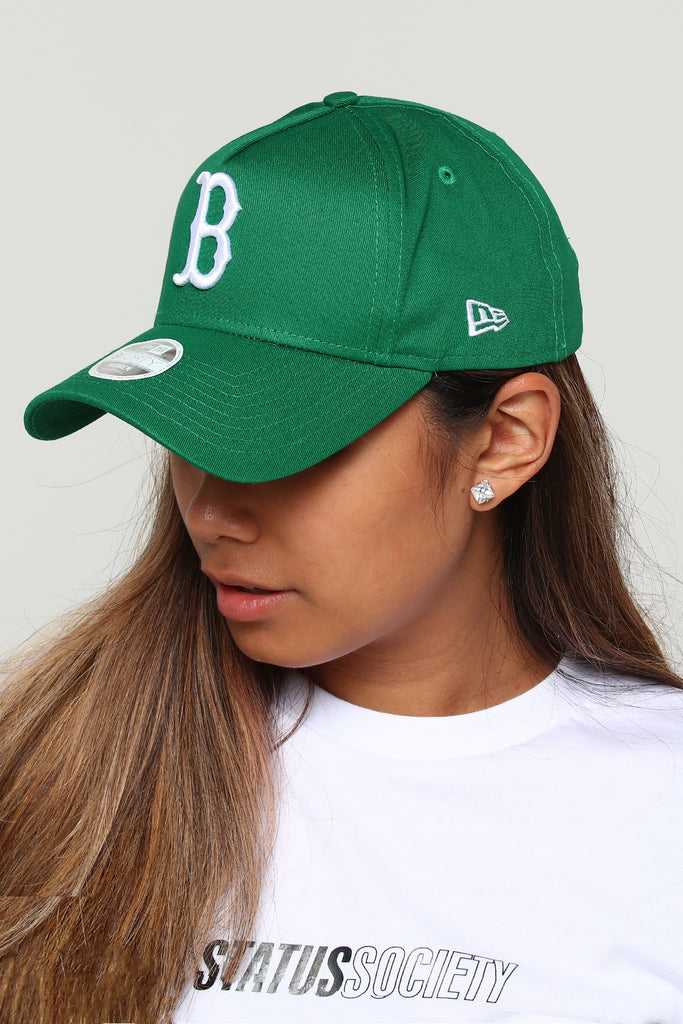 6a07bfa232d ... coupon for new era womens boston red sox ck 9forty a frame snapback  emerald green 71fee