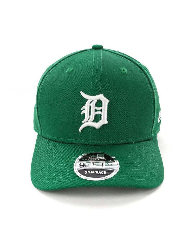 official photos 87e41 62696 New Era Detroit Tigers 9FIFTY Original Fit Precurved Snapback Emerald Green